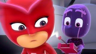 Герои в масках PJ Masks - маленькие ниндзя - мультики для детей