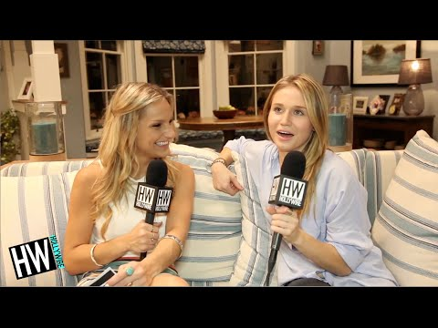 'Faking It's' Rita Volk Talks Sex  Awkwardness With Gregg Sulkin!
