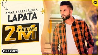 LAPATA | AMAR SAJAALPURIA | OFFICIAL VIDEO 4K | LATEST PUNJABI SONG 2015 | YAAR ANMULLE RECORDS |