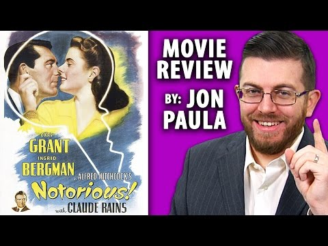 Notorious (Alfred Hitchcock) -- Movie Review #JPMN