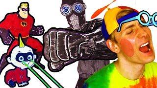Incredibles 2 👶 Coloring Story Jack Jack!!! Superheroes Coloring Page