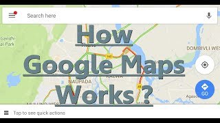 How Google Maps Works ? How Live traffic works ? Explanation (Hindi) Free HD Video