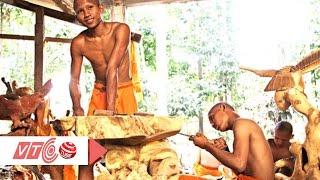 Về Trà Vinh xem nghề điêu khắc gỗ trong chùa | VTC