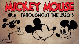 How to Draw Mickey Mouse: 1920