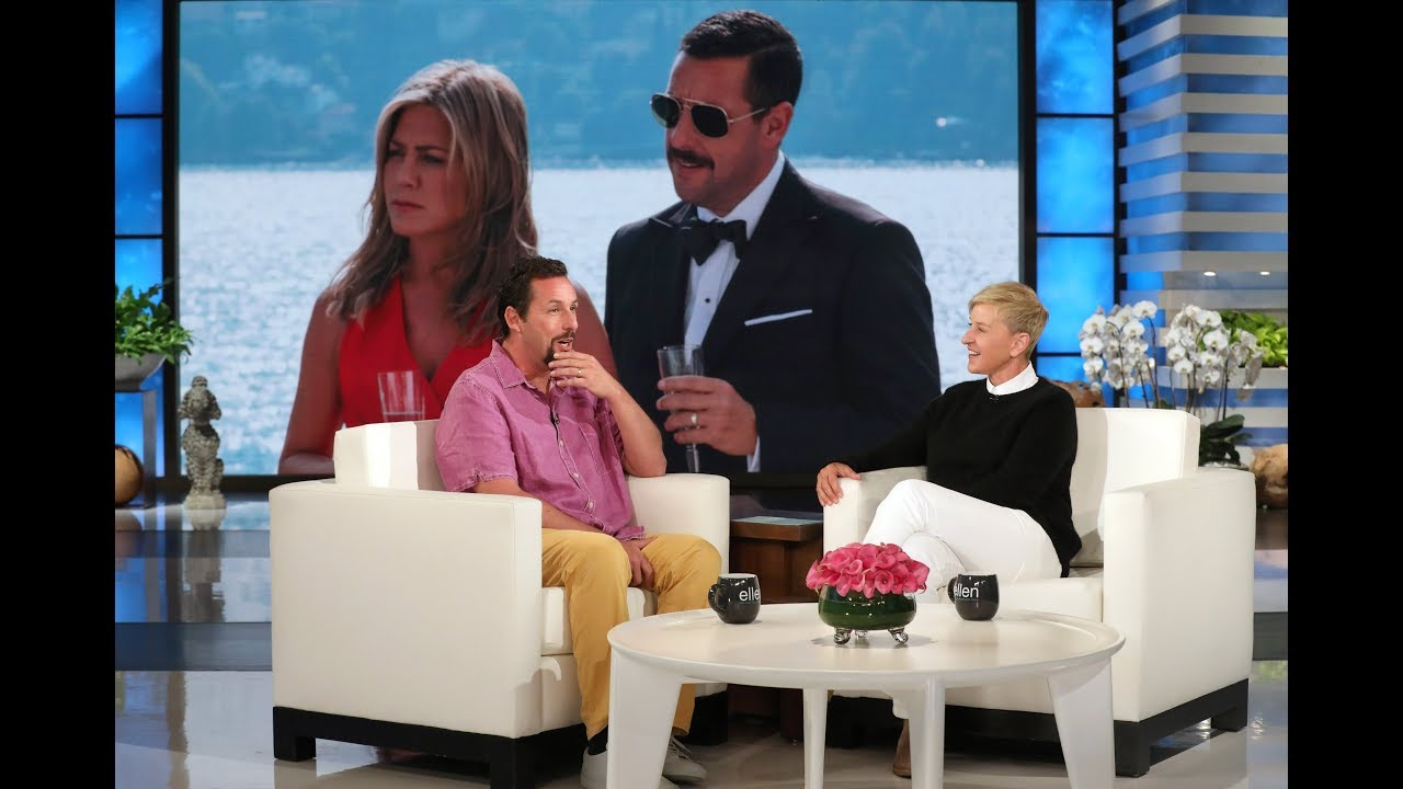 'Murder Mystery': Adam Sandler's wife gave tips during the Jennifer Aniston kissing scenes