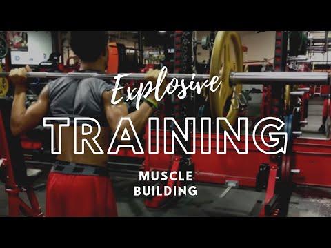 Explosive Training- Muscle Building Program