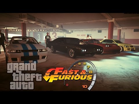 GTA V Online - FAST AND FURIOUS MOST ICONIC CARS *[Cinematic]*