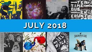 July 2018 / Album Review Roundup