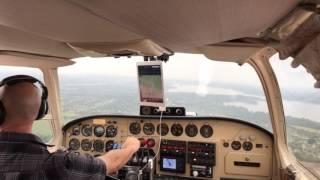 Twin Bonanza Landing