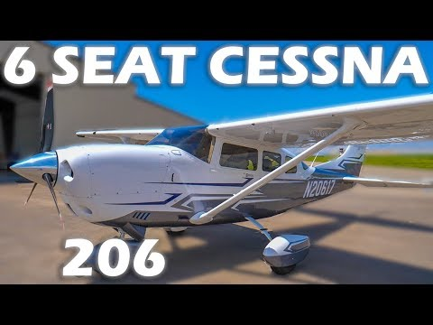 6 Seat Cessna 206 - The Stationair