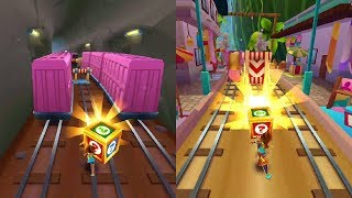 """Subway Surfers: Bali (Fabulous """"Friday"""" Super Mystery Boxes!) Gameplay #2 On Android"""