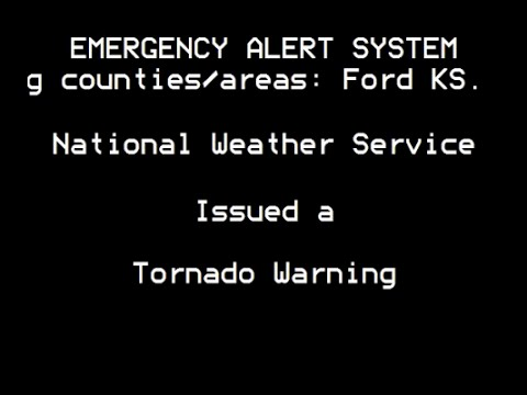 EAS: Tornado Emergency for Dodge City, KS (5/24/16)