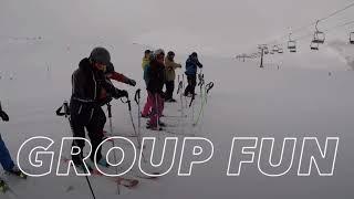 Ski Definition 2018 - Short Video Baqueria-Beret Spain