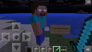 Minecraft Herobrine caught sighting!!!