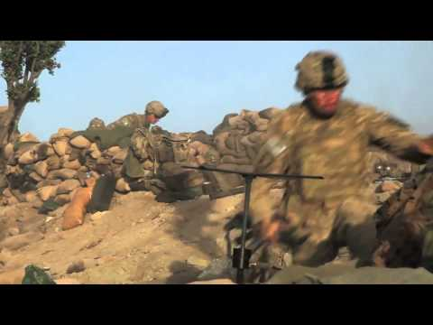Firefight in Paktika , Afghanistan 2011