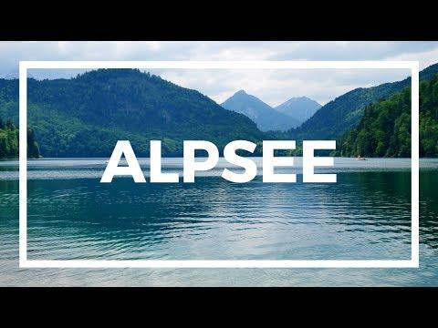 Alpsee - Travel Germany [4K]
