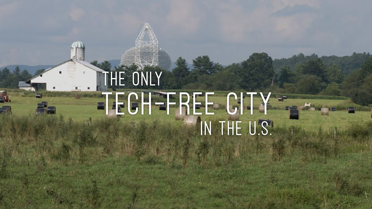 TECH FREE CITY Green Bank, WV TRAILER - Off the Cuf Episode 2