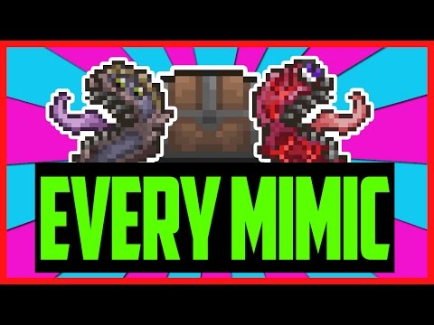 Loot From EVERY Single Mimic In Terraria!