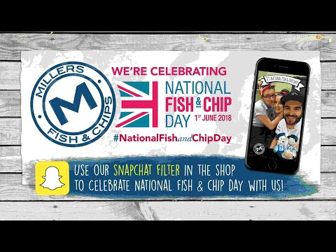 National Fish And Chip Day 2017 - Snapchat Story