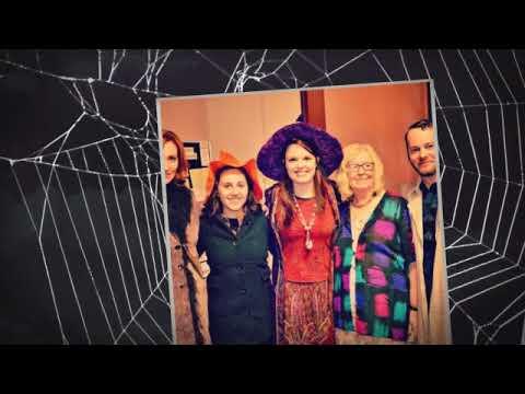 Halloween town in honor of Debbie Reynolds - YouTube