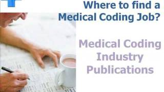 Getting A Medical Coding Job