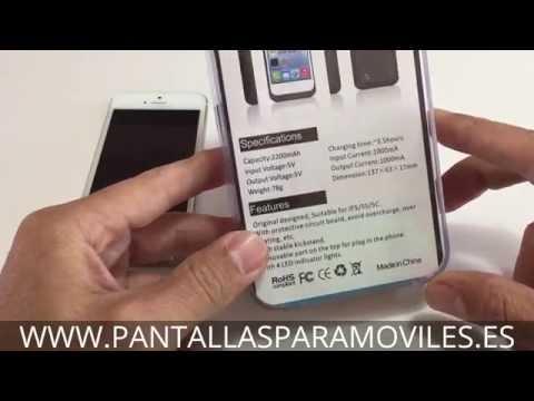 Cómo Funciona Carcasa Bateria Externa Para iPhone 5 5S Funda Power Bank 2200mAh