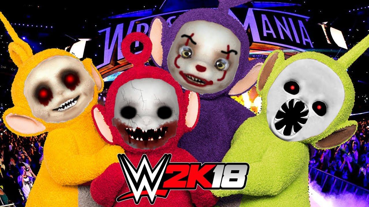 WWE 2K18 | TELETUBBIES.EXE - YouTube