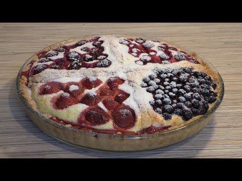 торт с творогом и ягодами рецепт пошагово