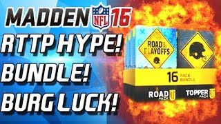RTTP BUNDLE!!! BURG LUCK IN FULL EFFECT! - Madden 16 Ultimate Team