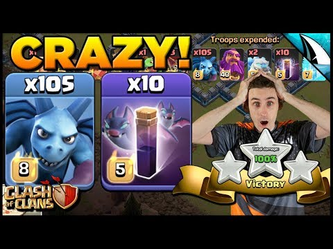 *IMPOSSIBLE* Mass Minions At Max TH 12 + Other Lalos | Clash Of Clans