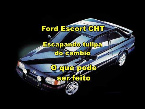Ford Escort 1989, escapando tulipa do cambio, Hoje 27/06/2018