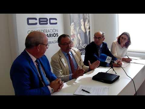 Rreunión de la Confederación de Empresarios del Campo de Gibraltar