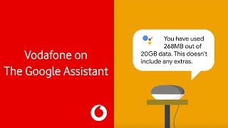 Vodafone on The Google Assistant