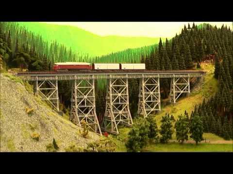 European Model Train Layouts compilation #3