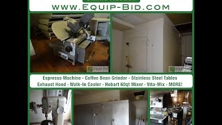 Equip-Bid.com - Columbia MO Pizza and Steak Restaurant Renovation Auction Video