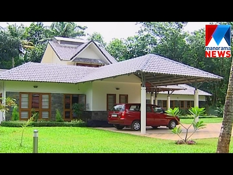 Open concept house plan veedu old episode manorama for Low cost kerala veedu plans