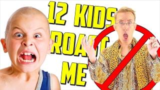 12 Kids ROAST Me