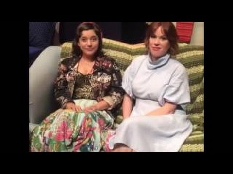 Molly Ringwald & Hannah Dunne from the set of 'Terms of Endearment' talk new off Broadway
