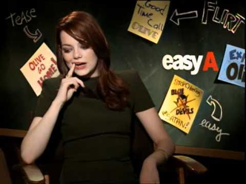'Easy A' Interview with Emma Stone