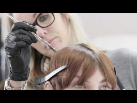 TIGI copyright ©olour Step by Step Look Samantha Tutorial