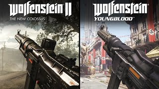 Wolfenstein: Youngblood vs The New Colossus | Direct Comparison
