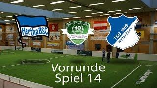 Spiel 14: Hertha BSC Berlin 0-3 TSG 1899 Hoffenheim │U12 Hallenmasters TuS Traunreut 2017