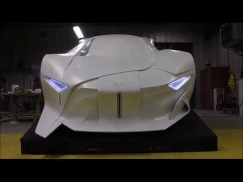 The DB Project: It's Finished! The World's First Full-Scale 3D Printed Concept Car