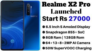 Realme X2 Pro Launched With Snapdragon 855  Soc, Quad Rear Cameras | Specifications And Price