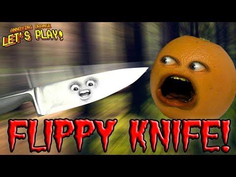 Download Youtube: Flippy Knife! 🔪 🍊 😮 [Annoying Orange Plays]