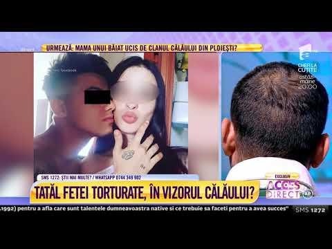 """Tatăl fetei torturate: """"Am fost la Poliție. Am găsit-o într-o stare jalnică"""