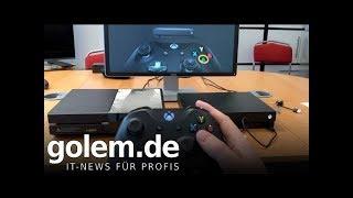 XBOX ONE X IM TEST: Schöner, schwerer Stromfresser (Re-Upload)