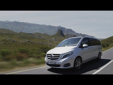 Mercedes-Benz TV: World Premiere of the new V-Class.