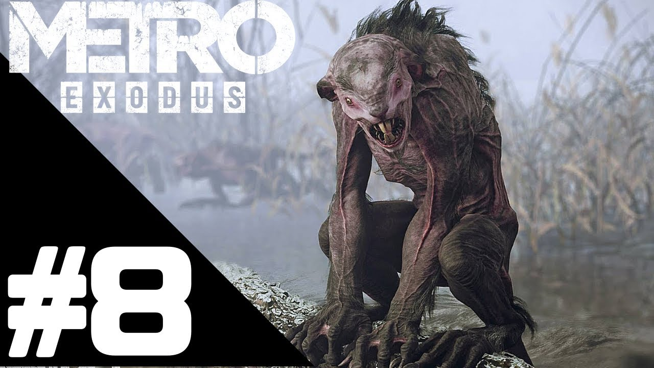 Metro Exodus Walkthrough Gameplay Part 8 – PS4 PRO 1080p Full HD – No Commentary