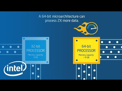 64-bit Mobile Computing Animation | Intel